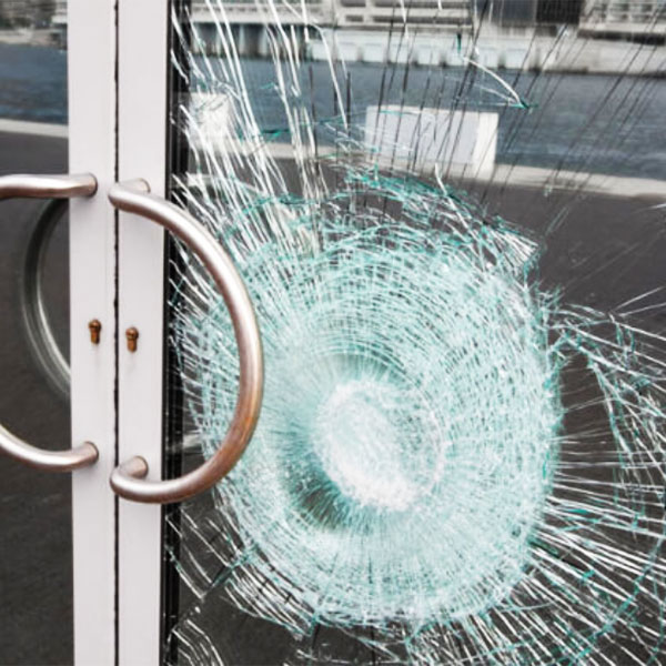 burglary prevention laminated glass