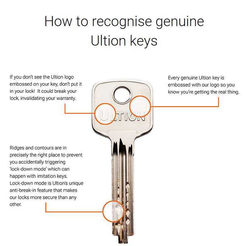 Ultion keys