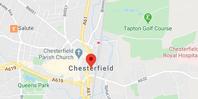 Fast callout to Chesterfield